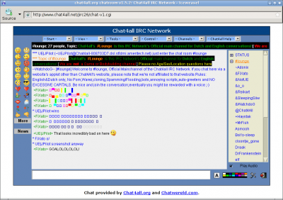 IRC-Client - Chat4AllFAQ